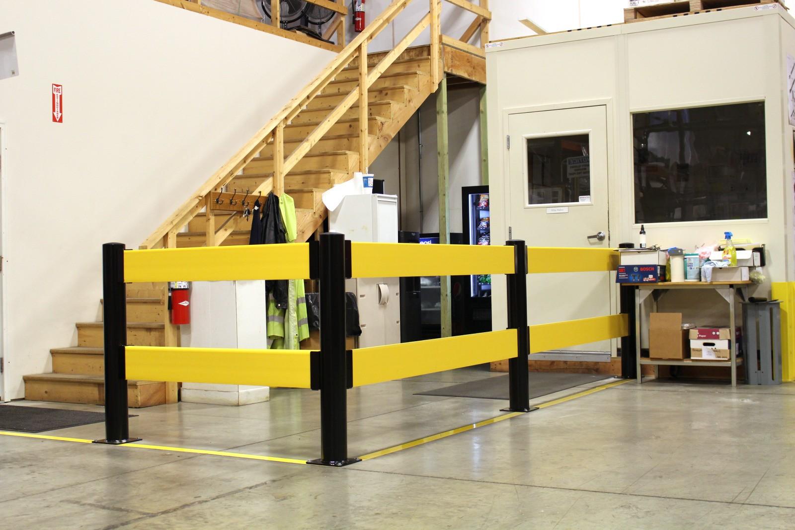 Barrière pour zone de travail