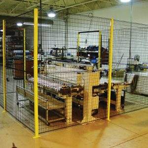 Clôture de sécurité industrielle