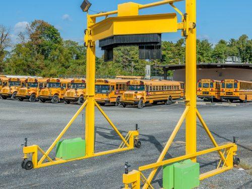 Scraper autobus 880 portatif